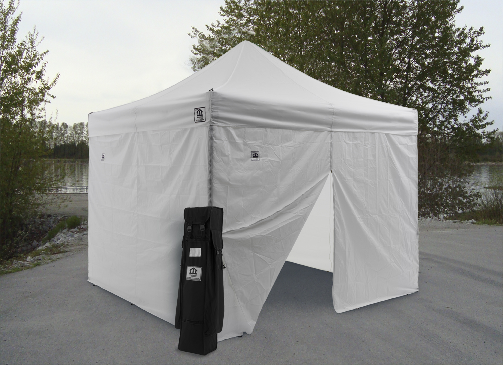 canopy & Impact Canopy AOL 10 x 10 Easy Pop Up Canopy Commercial Grade Tent ...